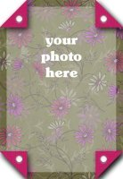 Double-Sided Cardstock Photo Mat Example