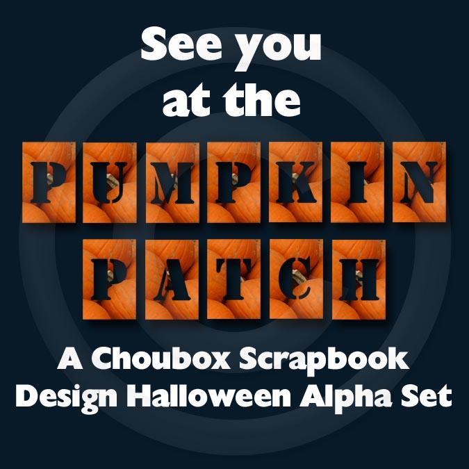 Choubox Pumpkin Patch Alphabet