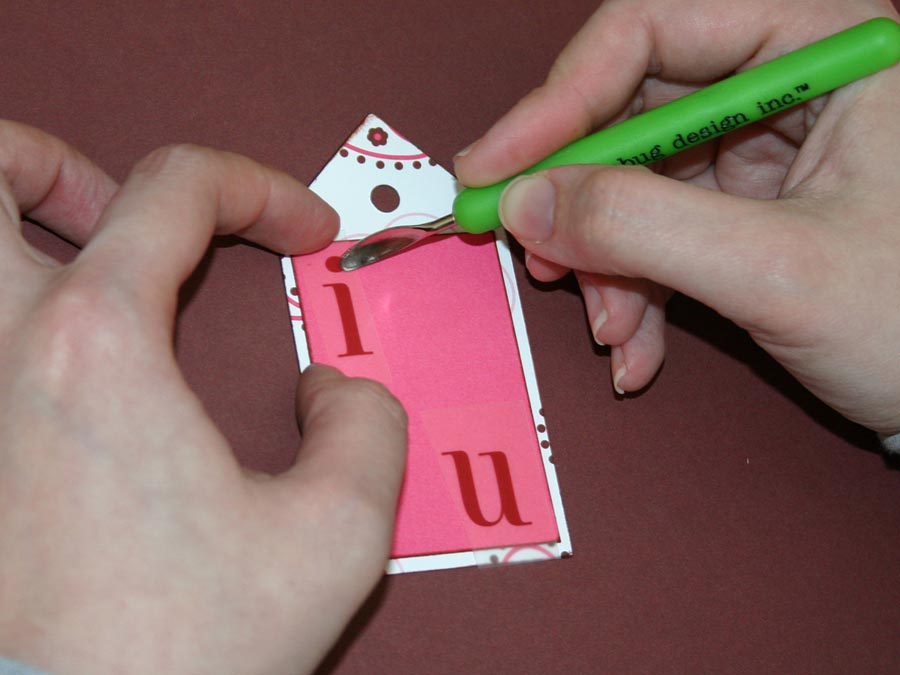 Step 4 - Attach Rub-On