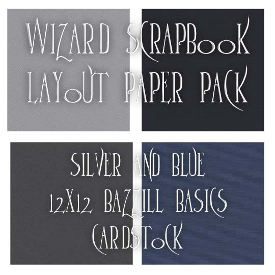 Silver and Green Paper Pack