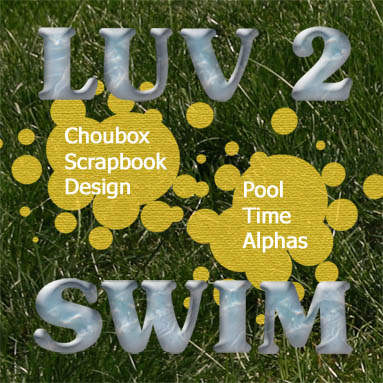 Choubox Pool Time Alphabet